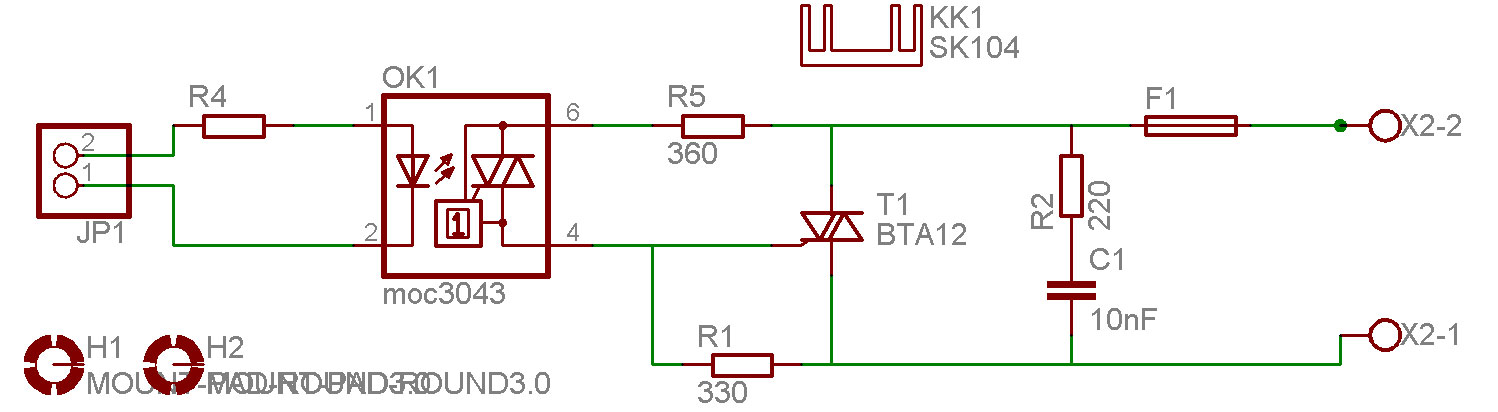 Topical Projects Microelectronics - Solid state relay using triac